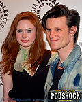 Karen Gillan and Matt Smith in NYC (1)